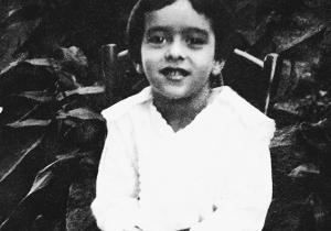 Vinicius, por volta dos quatro anos