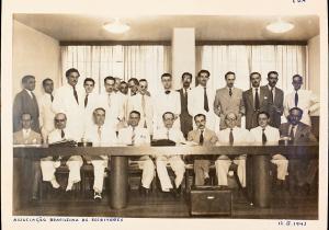 Na Associação Brasileira de Imprensa, 1942