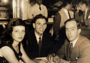 Com Helena e Fernando Sabino